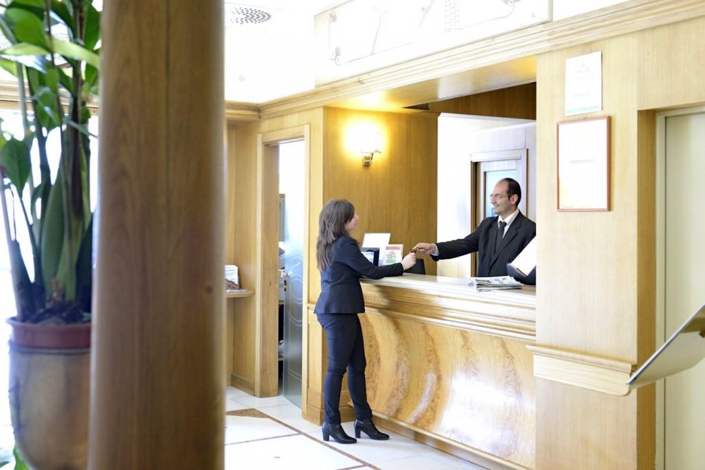 Grand Hotel Europa Napoli - reception