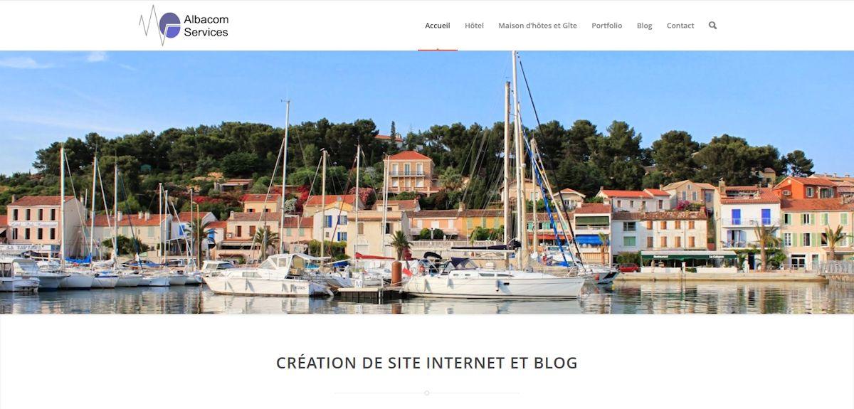 Albacom Services, web agency Saint Mandrier sur mer