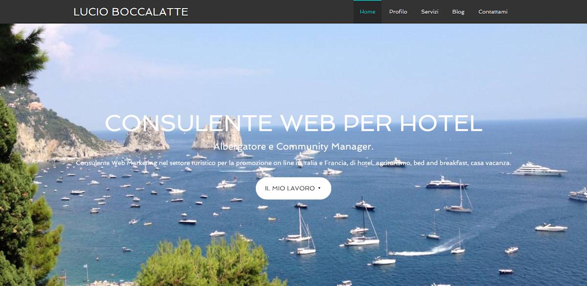 Lucio Boccalatte, consulente web per hotel