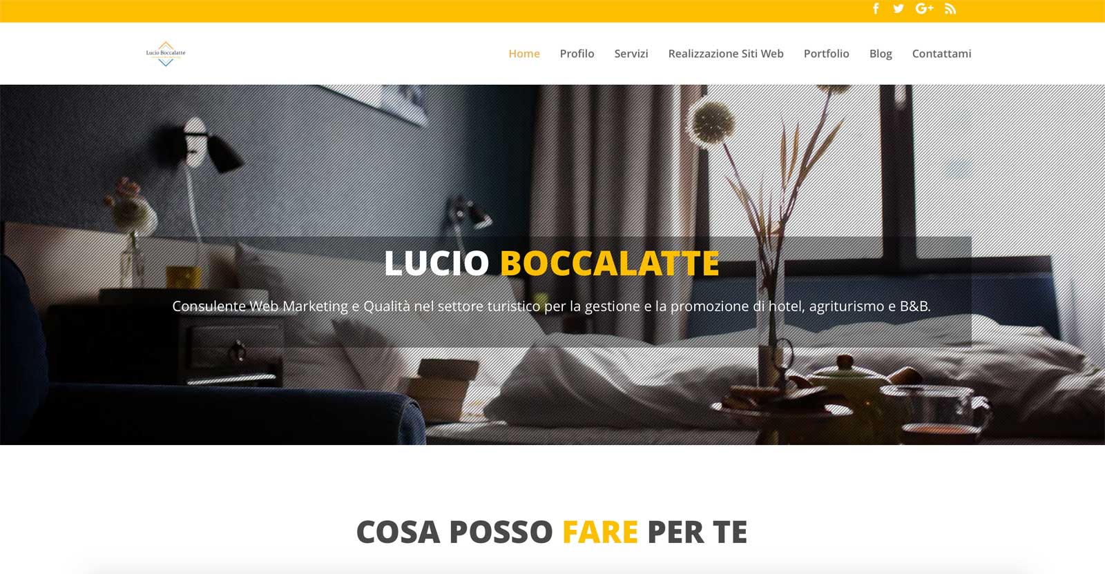 Lucio Boccalatte consulente web marketing per hotel