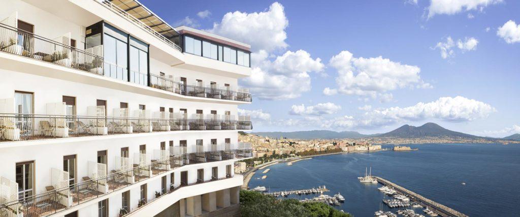 Vista panoramica sul Golfo di Napoli e sul Vesuvio, Best Western Hotel Paradiso (Campania, Italia)