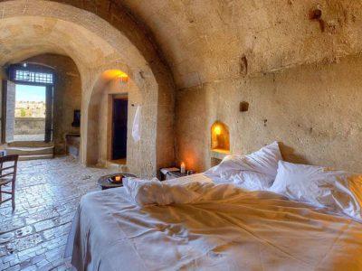 Hotel Sextantio Le Grotte Della Civita a Matera (Basilicata, Italia)