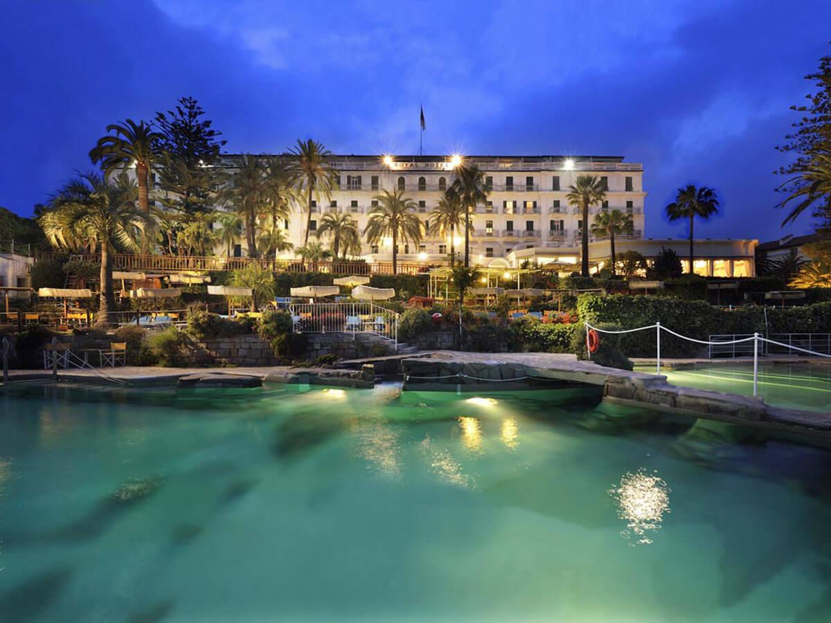 Royal Hotel Sanremo, residenza d'epoca (Liguria, Italia)