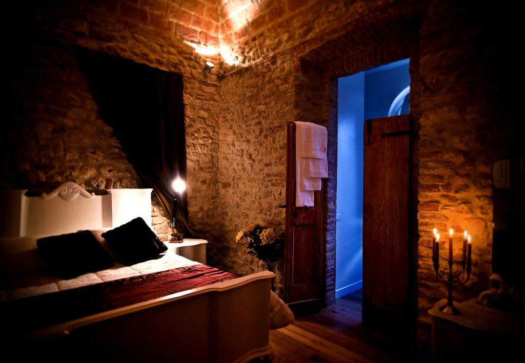 Una Camera del Castello di Montignano Relais & Spa - Hotel di lusso Umbria
