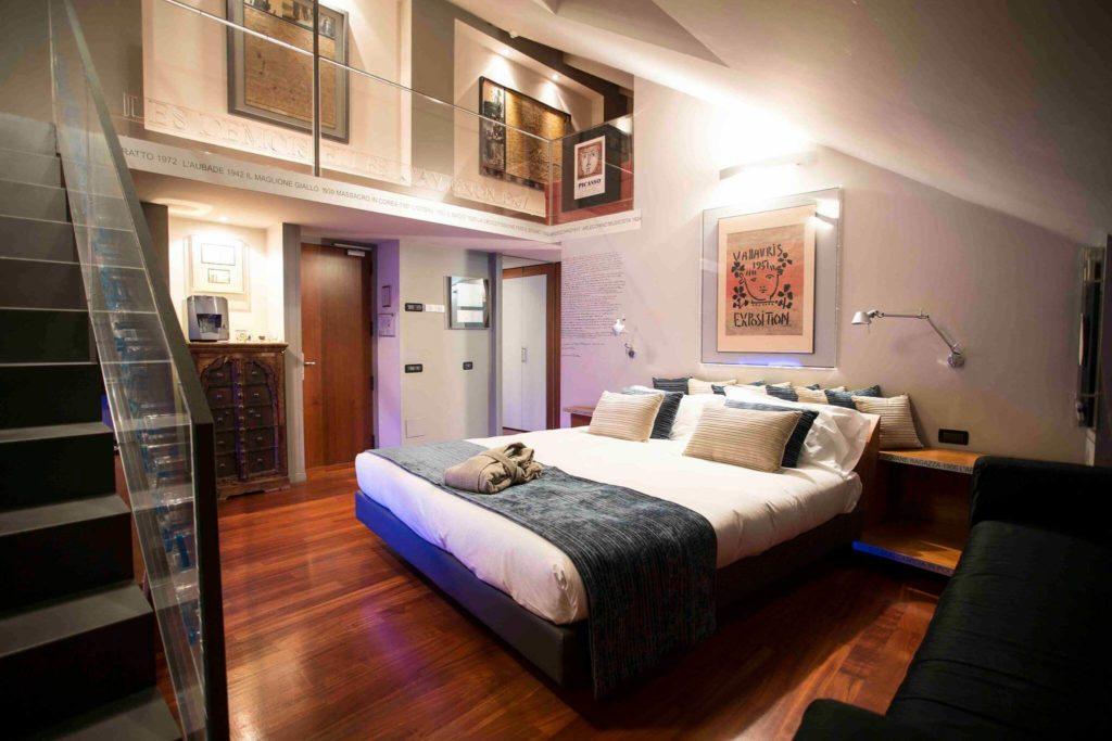 Camera Boston Art Hotel Torino (Suite Picasso)