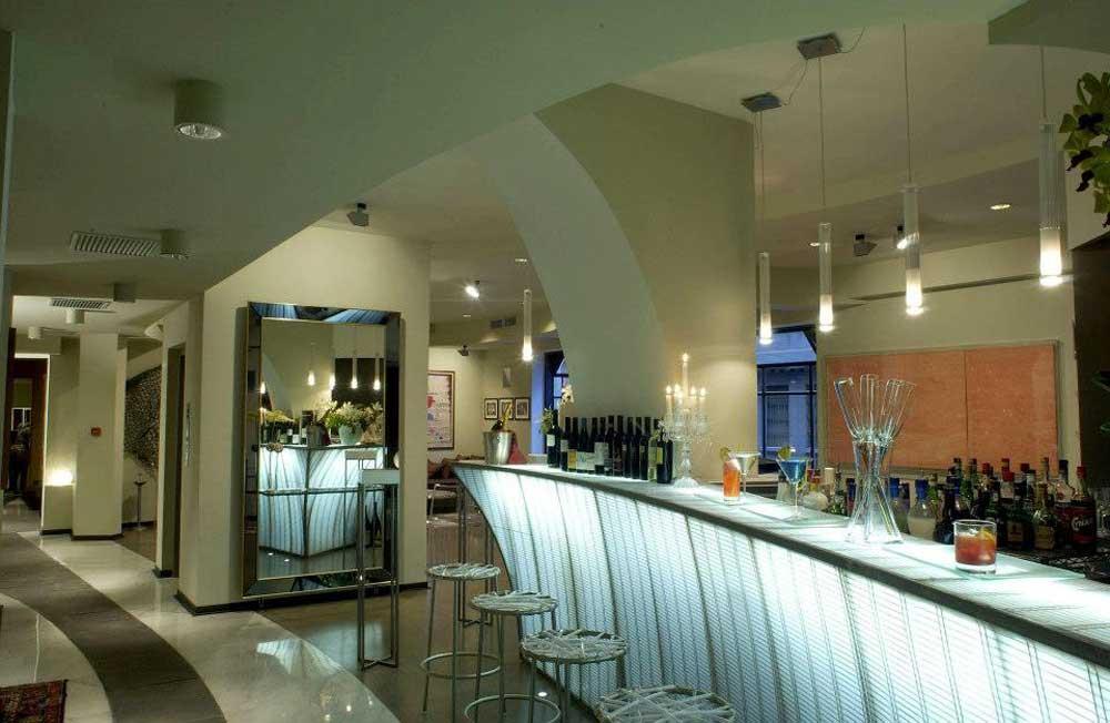 Fibonacci Bar Boston Art Hotel Torino