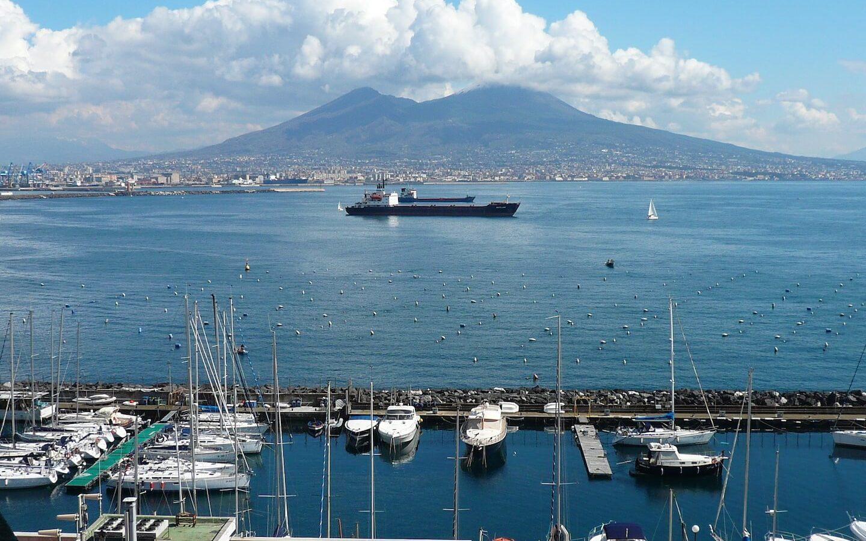 Vesuvio golfo di Napoli