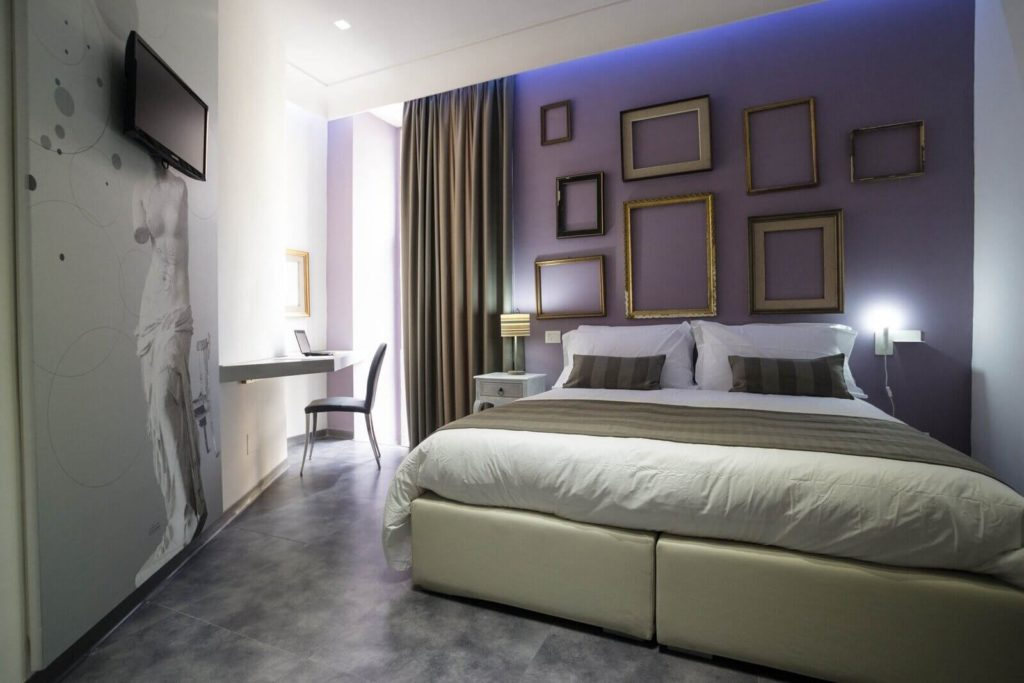 Camera Superior Santa Brigida, boutique hotel a Napoli