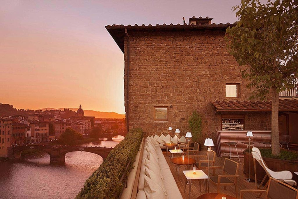 Terrazza Rooftop Bar Hotel Continentale Firenze (Lungarno Collection)