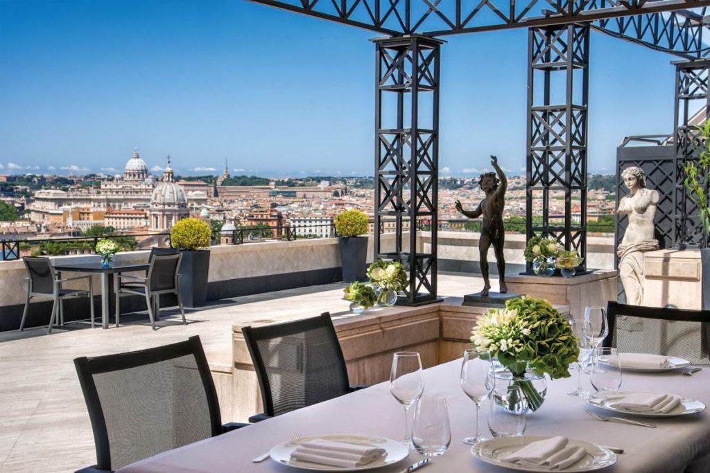 Hotel Hassler Roma: Penthouse Villa Medici Suite