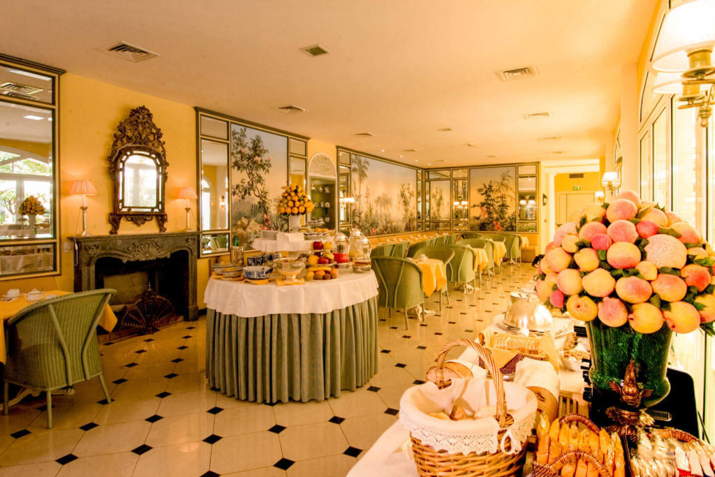 Sala colazioni Hotel Victoria Torino