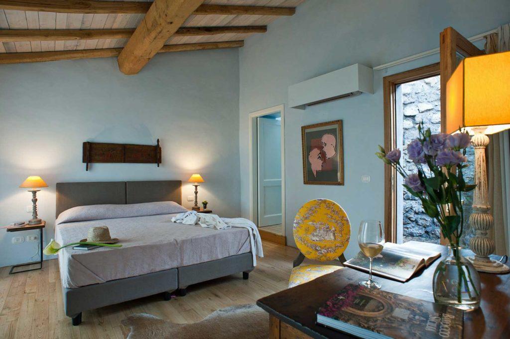 Fruttato, camera Classic Monaci delle Terre Nere Boutique Hotel in Sicilia