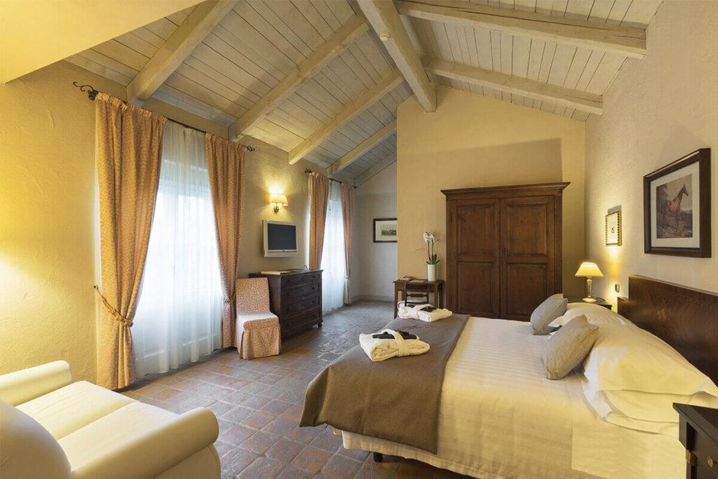 Suite Deluxe Family del Relais Sant'Uffizio Wellness & Spa, Asti (Piemonte)