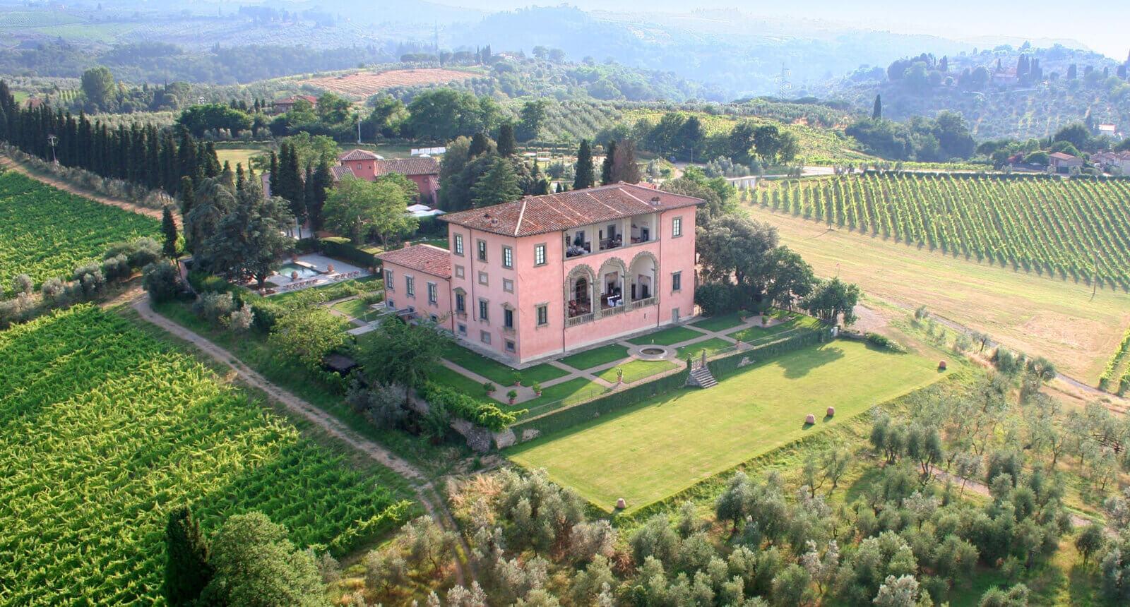 Villa Mangiacane San Casciano in Val di Pesa, Toscana Italia