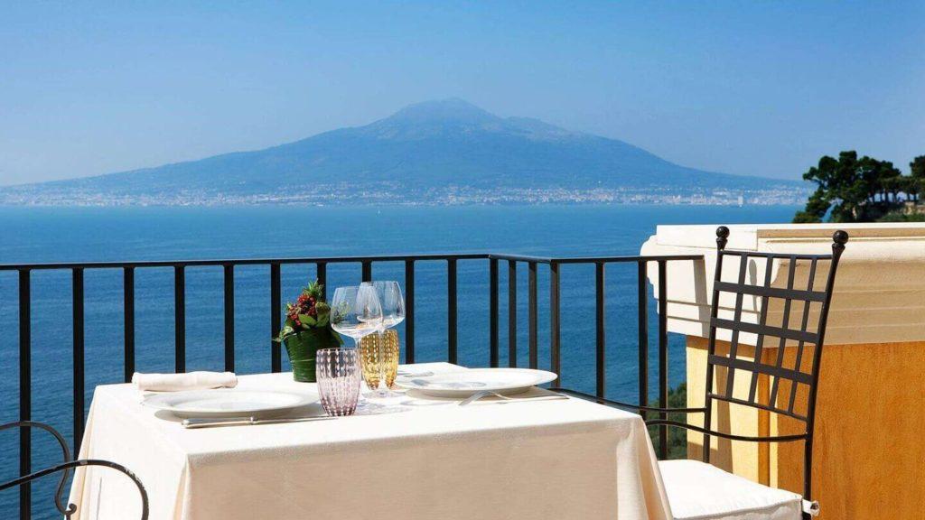 Ristorante l'Accanto Grand Hotel Angiolieri Sorrento (Campania, Italia)