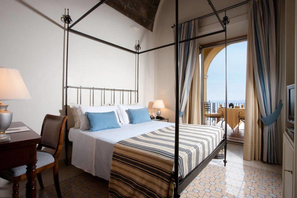 Camera Deluxe con vista mare Grand Hotel Angiolieri Seiano di Vico Equense (Campania, Italia)