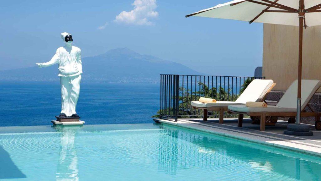 Piscina Grand Hotel Angiolieri Sorrento (Golfo di Napoli)