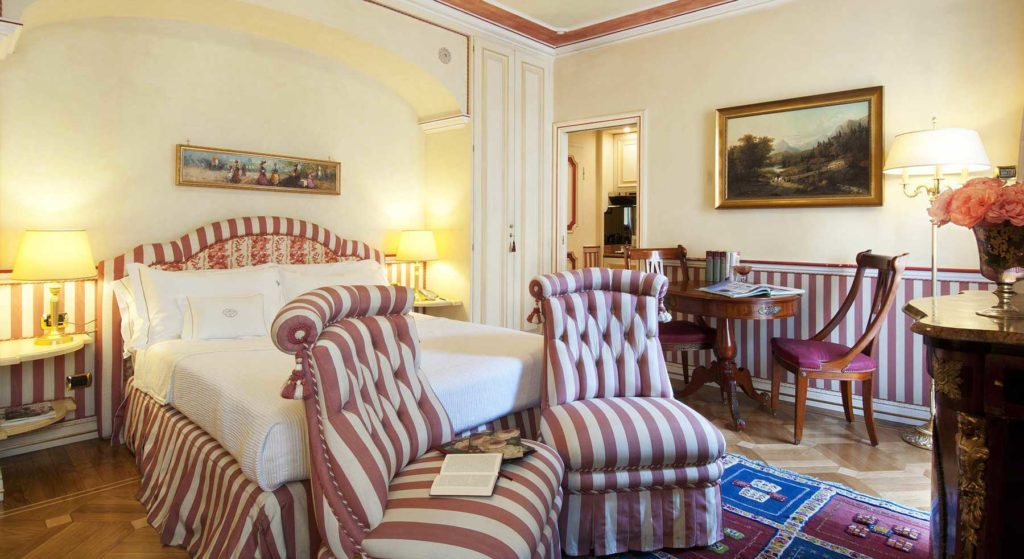 Suite Deluxe petit Palais Hotel di lusso Milano